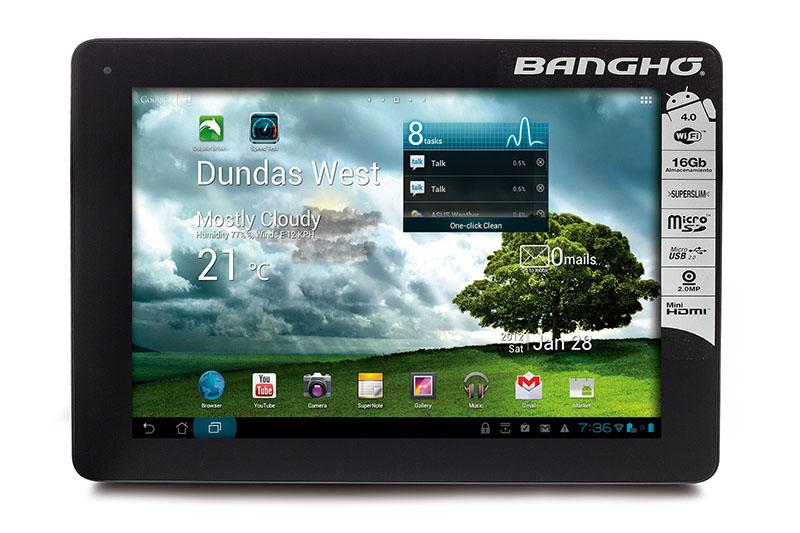 Tablet Aero de Bangho