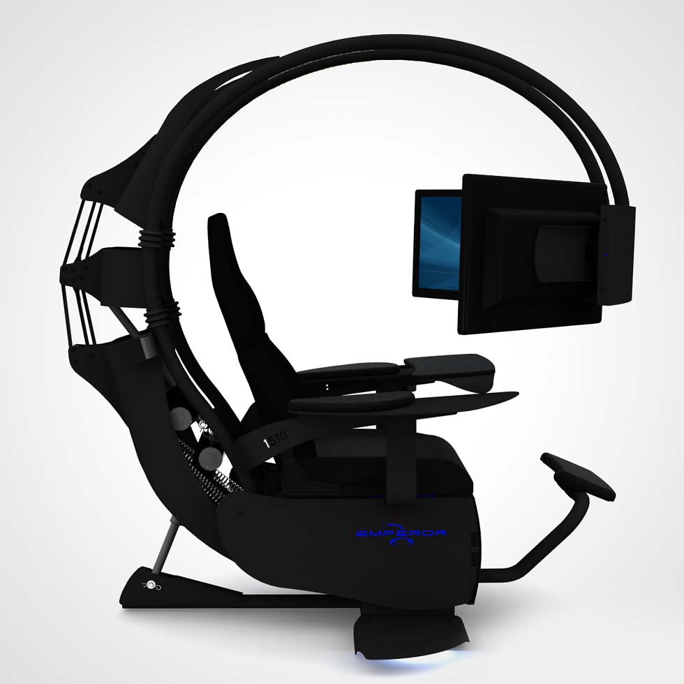 Emperor chair 1510 la silla gamer definitiva hd tecnolog a for Sillas para gamers