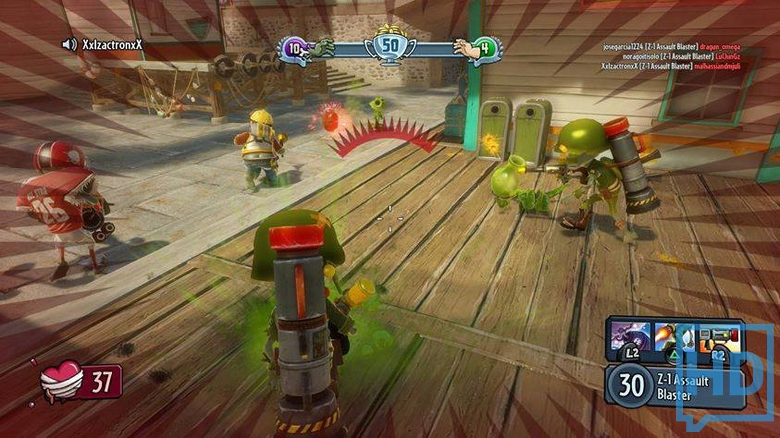 Similiar Plants Vs Zombies Garden Warfare Gameplay Keywords