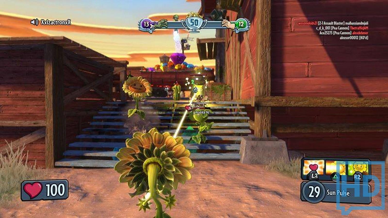 Similiar Plants Vs.Zombies Warfare Gameplay Keywords