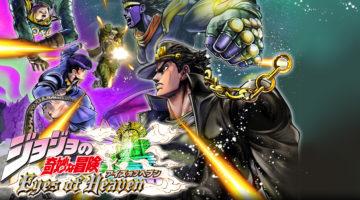 Conoce a los personajes del capitulo 3 Stardust Crusaders en JoJos Bizarre Adventure Eyes of Heaven