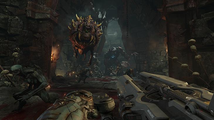 Doom muestra un video del modo single player