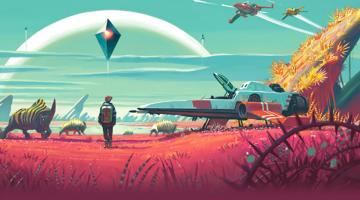 Nuevo GamePlay de No Man's Sky