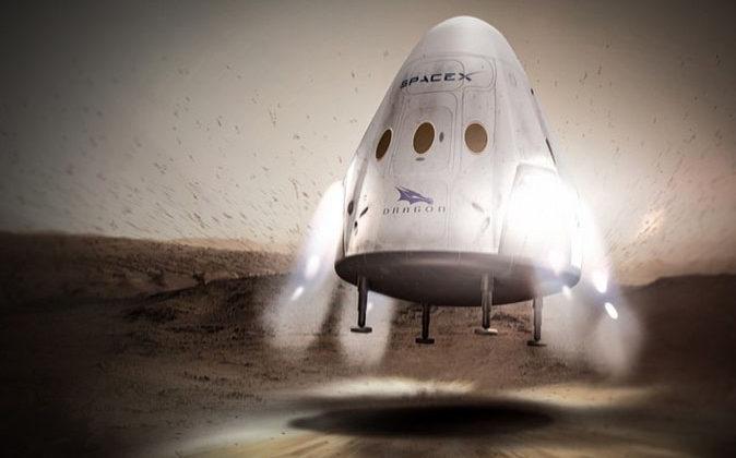SpaceX planea ir a Marte en dos años
