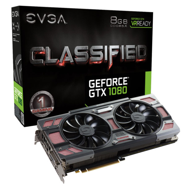 EVGA GTX 1080 Classified Gaming ACX 3.0