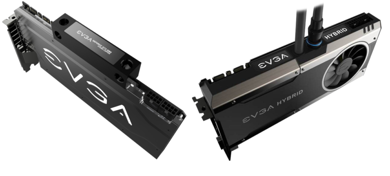 EVGA GTX 1080 Hybrid e Hydro Cooper