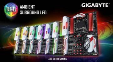 Gigabyte esta lanzando las placas madre Gigabyte X99 Ultra Gaming y Gigabyte X99 Designare EX