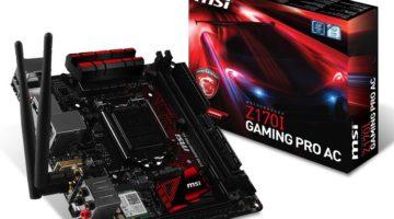 MSI rompe un record mundial de memorias DDR4 en una placa madre ITX