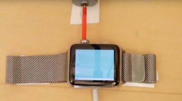 Windows 95 funcionando en un Apple Watch