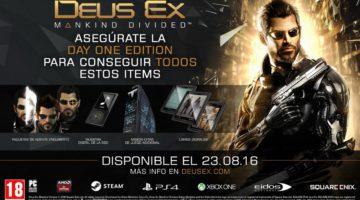 Ya pueden reservar Deus Ex Mankind Divided