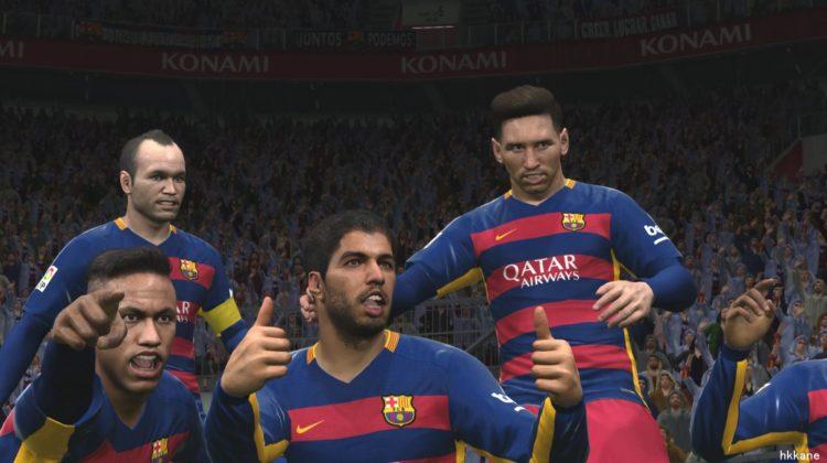 Konami Barcelona 3 anos