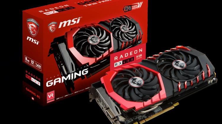 MSI RX 480 Gaming X 8GB