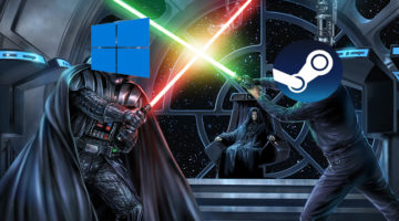Microsoft quiere destruir Steam