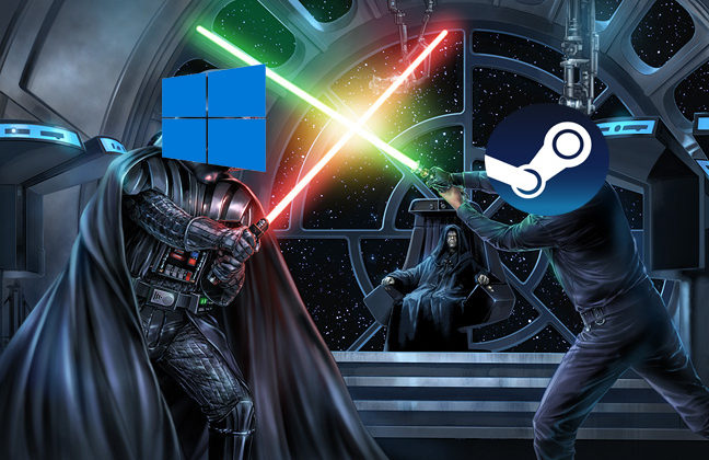 Microsoft quiere destruir Steam