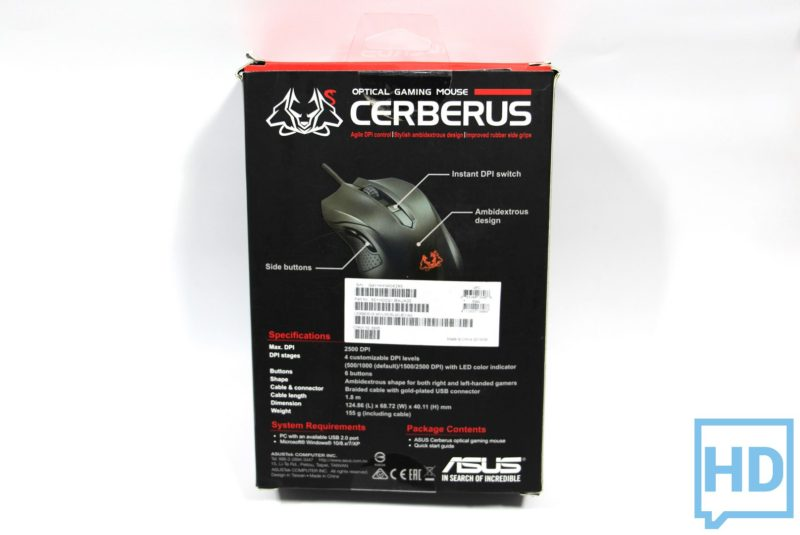 Review Mouse Asus Cerberus-3