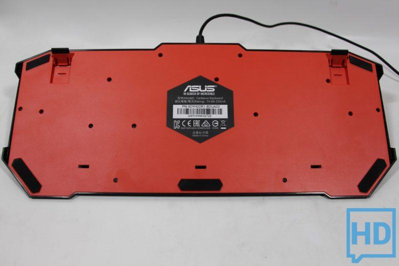 Review Teclado Asus Cerberus-5