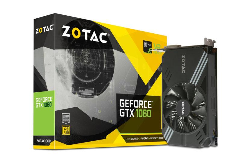Zotac GTX 1060 Mini