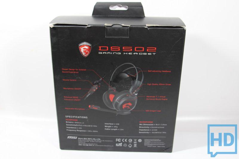 Auricular-MSI-DS502-22