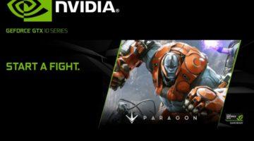 NVIDIA regala PAck con contenido de Paragon para los que compren una GeForce GTX de la serie 10