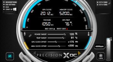 Nuevo EVGA Precision XOC 6.0.5
